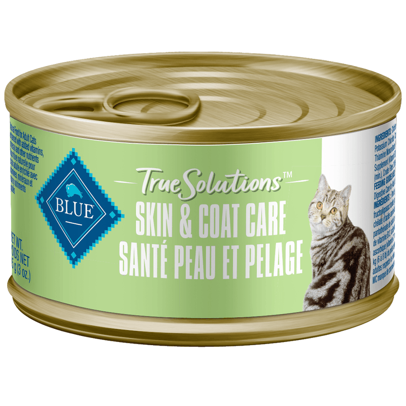 Blue True Solutions Canned Cat Food Skin & Coat Care 85g Canned Cat Food - PetMax
