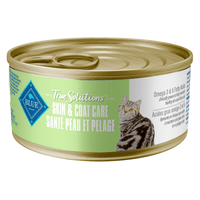 Blue True Solutions Canned Cat Food Skin & Coat Care 156g Canned Cat Food - PetMax