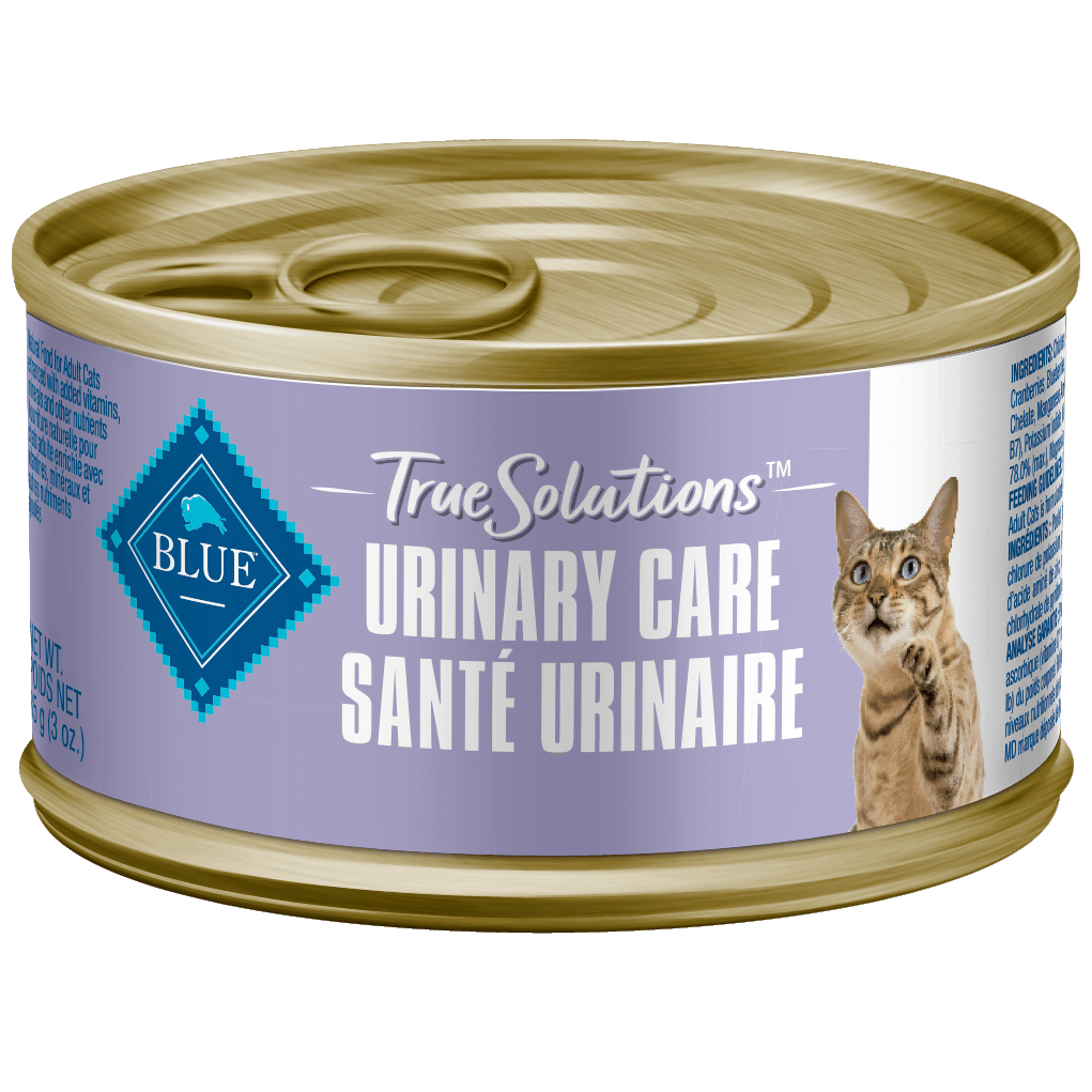 Blue True Solutions Canned Cat Food Urinary Care 85g 85g | Canned Cat Food Blue Buffalo -  PetMax.ca
