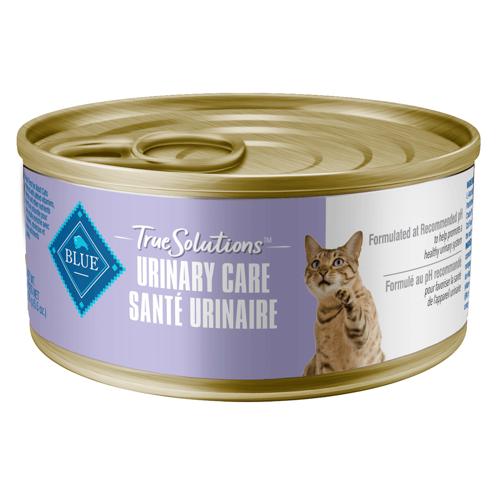 Blue True Solutions Canned Cat Food Urinary Care 156g 156g | Canned Cat Food Blue Buffalo -  PetMax.ca