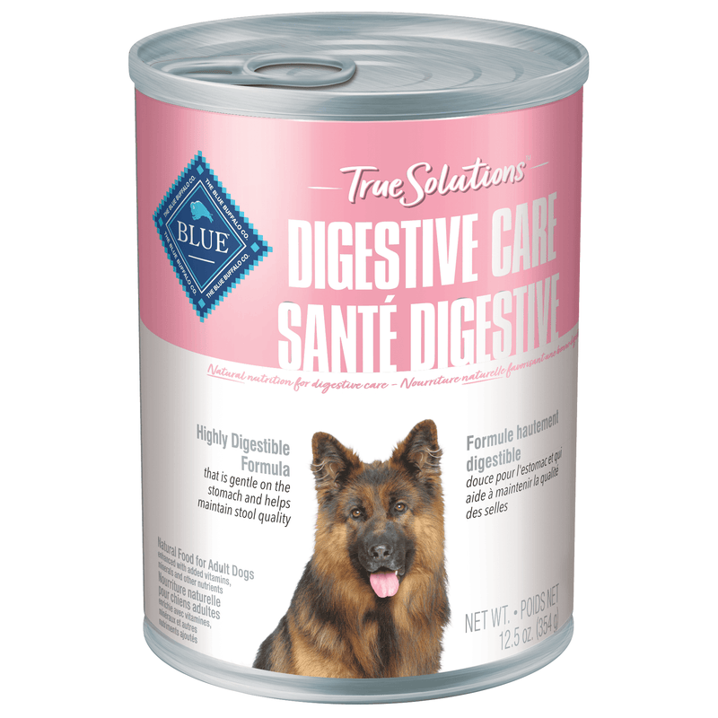 Blue True Solutions Canned Dog Food Digestive Care  Canned Dog Food - PetMax