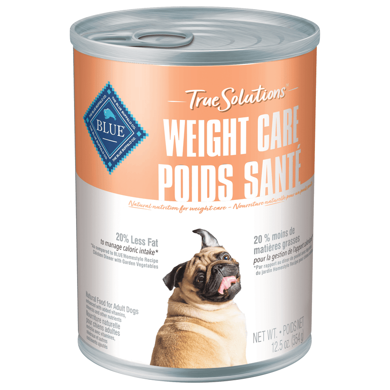 Blue True Solutions Canned Dog Food Weight Care 354g 354g | Canned Dog Food Blue Buffalo -  PetMax.ca