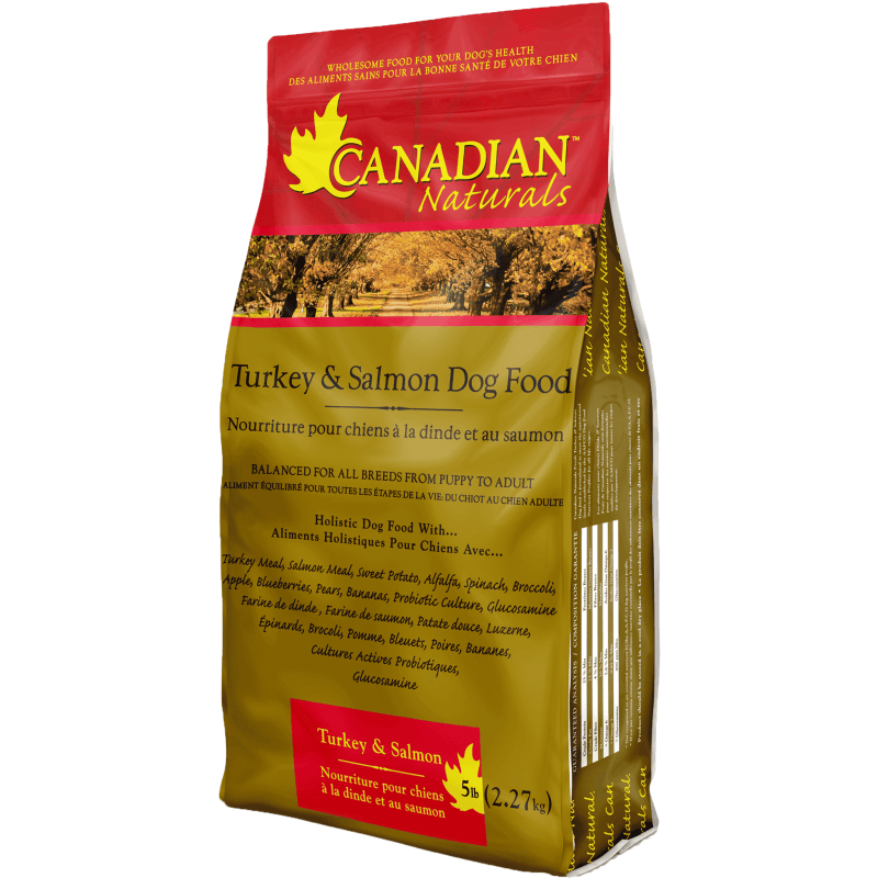 Canadian Naturals All Life Stages Turkey & Salmon | Dog Food -  pet-max.myshopify.com