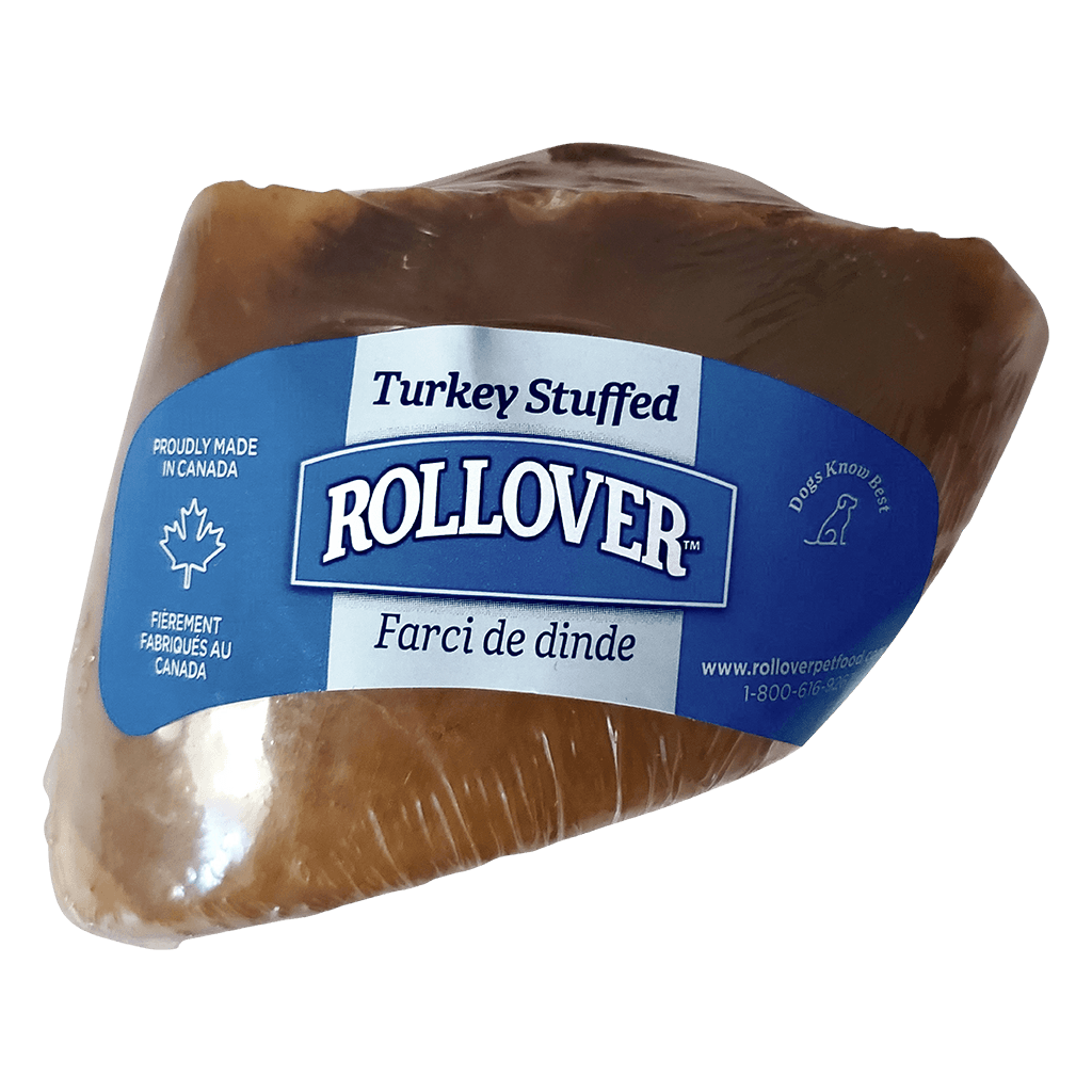 Rollover Stuffed Hoof Turkey  Chew Products - PetMax