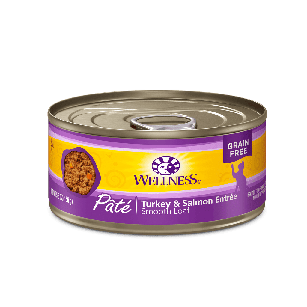 Wellness Canned Cat Turkey & Salmon  Canned Cat Food - PetMax