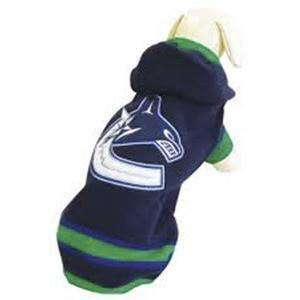 NHL Vancouver Canucks Sweater, Dog Clothing, Karsuh Activewear Inc. - PetMax