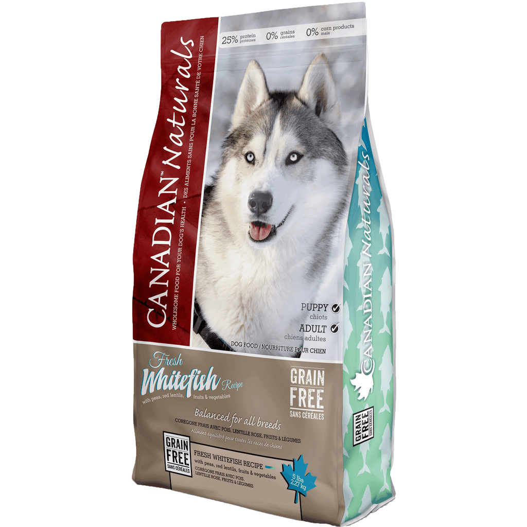 Canadian Naturals Grain Free Whitefish  Dog Food - PetMax