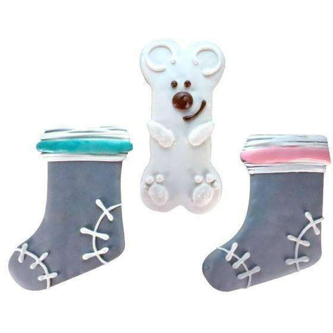 Bosco & Roxy Cozy Winter Sock Or Polar Bear 5""