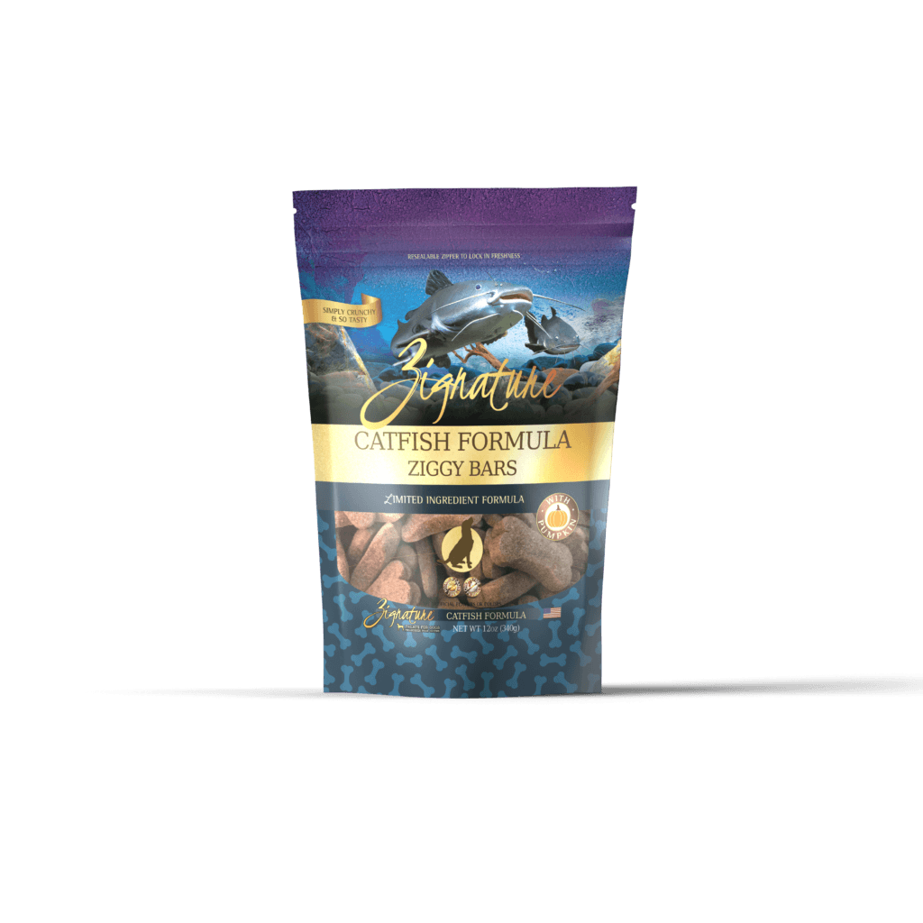 Zignature Dog Biscuits L.I.D. Catfish [variant_title] [option1] | Dog Treats Zignature Pet Food -  pet-max.myshopify.com