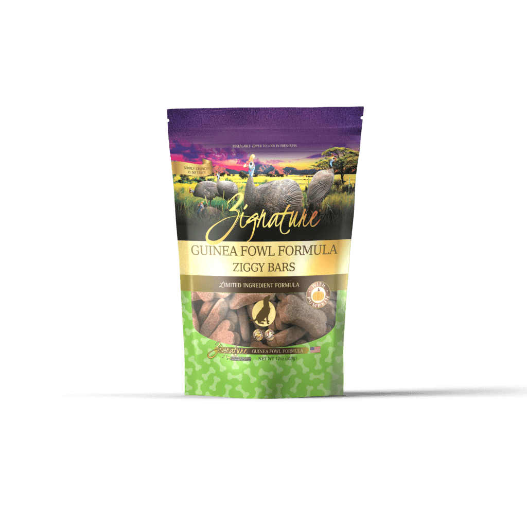 Zignature Dog Biscuits L.I.D. Guinea Fowl [variant_title] [option1] | Dog Treats Zignature Pet Food -  pet-max.myshopify.com