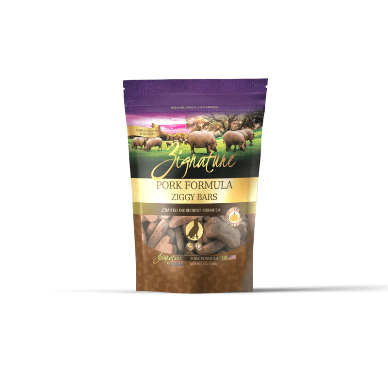 Zignature Dog Biscuits L.I.D. Pork [variant_title] [option1] | Dog Treats Zignature Pet Food -  pet-max.myshopify.com
