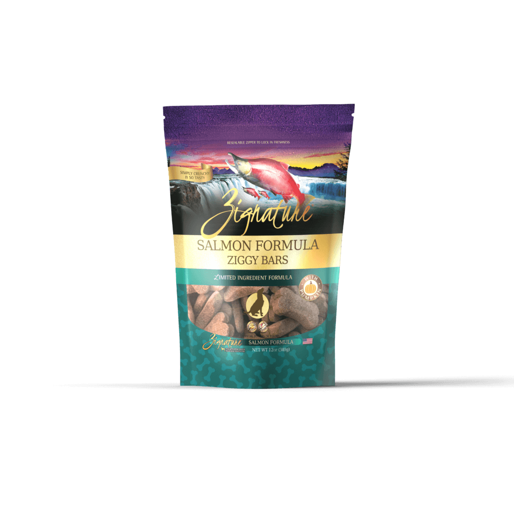 Zignature Dog Biscuits L.I.D. Salmon [variant_title] [option1] | Dog Treats Zignature Pet Food -  pet-max.myshopify.com