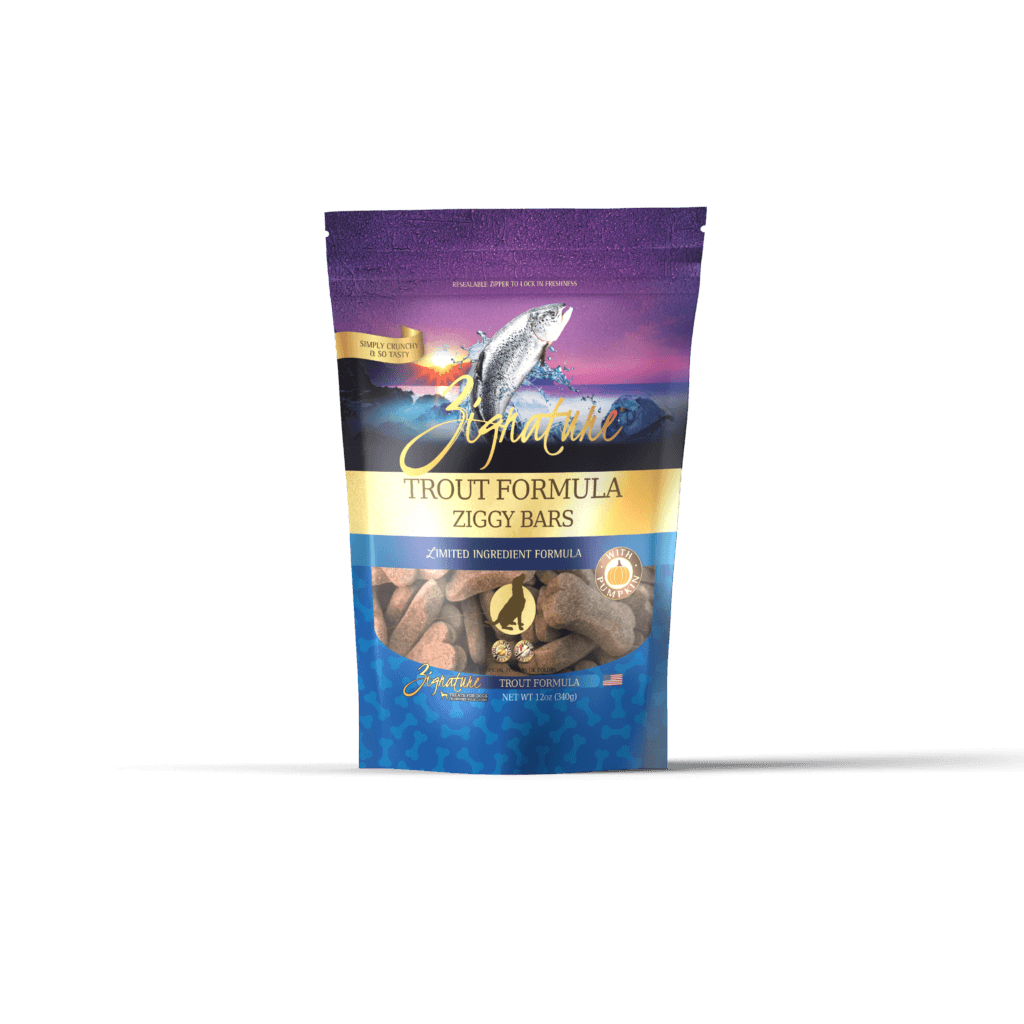Zignature Dog Biscuits L.I.D. Trout [variant_title] [option1] | Dog Treats Zignature Pet Food -  pet-max.myshopify.com