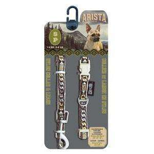 Zeus Arista Collar & Leash Set Bluegrass | Collar & Leash Set -  pet-max.myshopify.com
