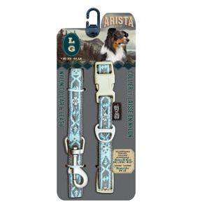 Zeus Arista Collar & Leash Set Jazz  Collar & Leash Set - PetMax