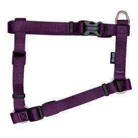 Zeus Nylon Dog Harness Royal Purple Lg: 3/4 x 18-27 in Harnesses - PetMax