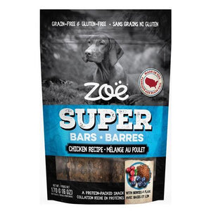 Zoe Super Bars Chicken Recipe  Dog Treats - PetMax