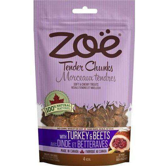 Zoe Dog Tender Chunks Turkey & Beets, Dog Treats, Rolf C Hagen Inc. - PetMax Canada