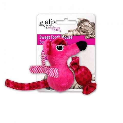 All For Paws Cat Toy Sweet Tooth Mouse, Cat Toys, All for Paws - PetMax