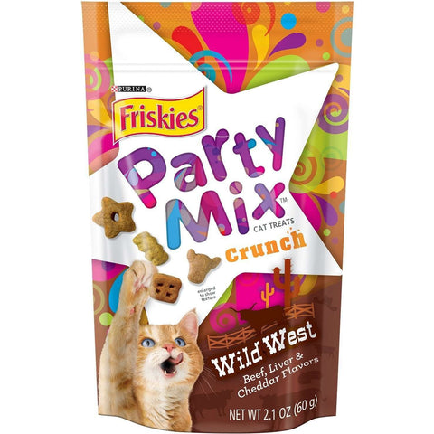 Friskies Party Mix Wild West, Cat Treats, Nestle Purina PetCare - PetMax