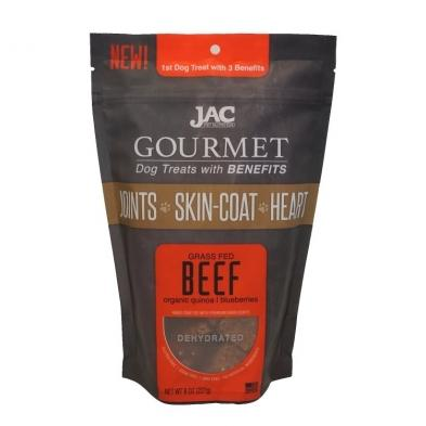 Jac Pet Nutrition Gourmet Treats Beef [variant_title] [option1] | Dog Treats Jac Pet Nutrition -  pet-max.myshopify.com