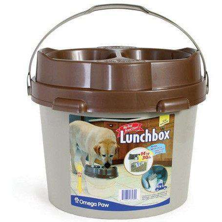 Omega Paw Big Dog Lunchbox, Dog Dishes, Omega Paws - PetMax