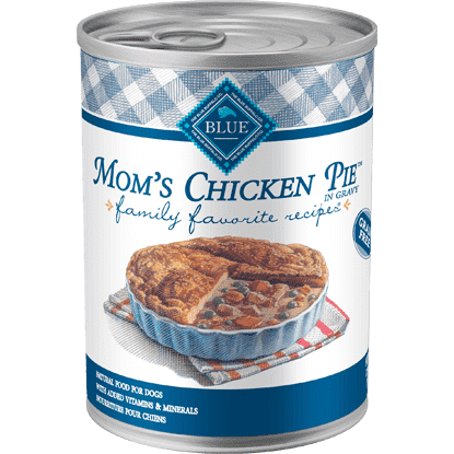 Blue Buffalo Family Favorite Recipe Moms Chicken Pie, Canned Dog Food, Blue Buffalo Company - PetMax