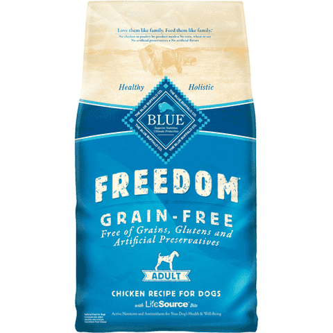 Blue Freedom Adult Dog Food Chicken Recipe