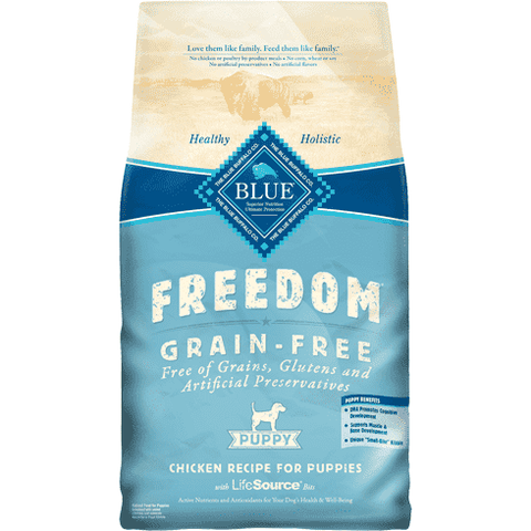 Blue Freedom Puppy Food Chicken Recipe