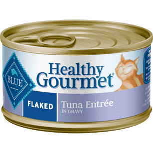 Blue Healthy Gourmet Flaked Tuna, Canned Cat Food, Blue Buffalo Company - PetMax