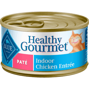 Blue Healthy Gourmet Pate Indoor Chicken, Canned Cat Food, Blue Buffalo Company - PetMax