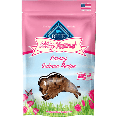 Blue Buffalo Kitty Yums Savory Salmon, Cat Treats, Blue Buffalo Company - PetMax Canada