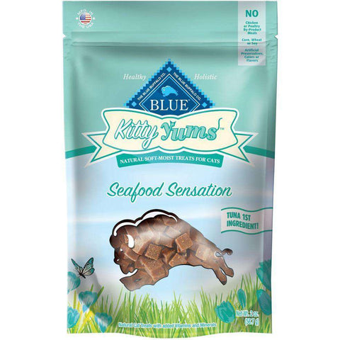 Blue Buffalo Kitty Yums Seafood Sensation, Cat Treats, Blue Buffalo Company - PetMax