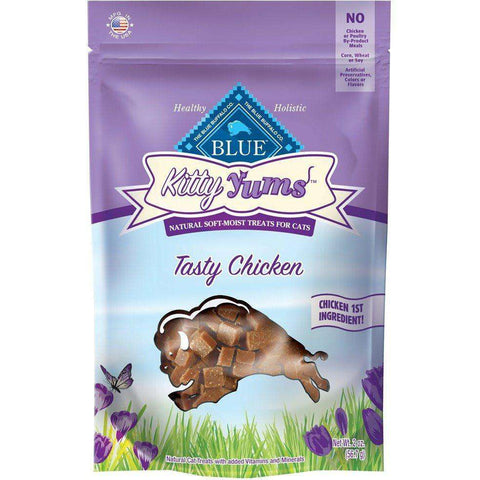 Blue Buffalo Kitty Yums Tasty Chicken, Cat Treats, Blue Buffalo Company - PetMax Canada