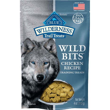 Blue Wilderness Dog Wild Bits Chicken, Dog Treats, Blue Buffalo Company - PetMax Canada