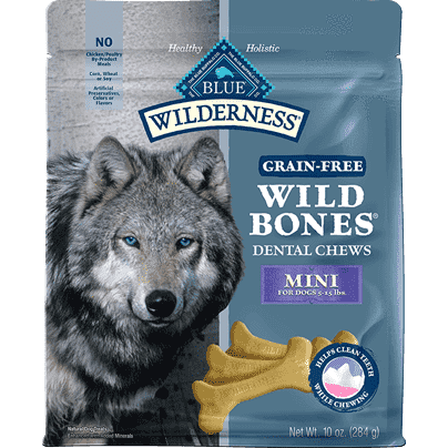 Blue Buffalo Wilderness Wild Bones Mini Dog Treats [variant_title] [option1] - PetMax.ca