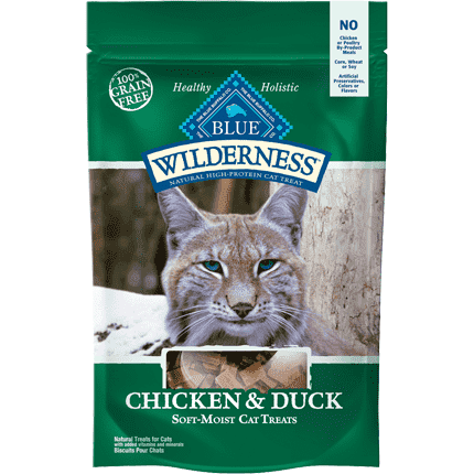 Blue Wilderness Cat Treats Chicken & Duck  Cat Treats - PetMax