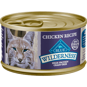 Blue Buffalo Wilderness Canned Cat Food Chicken  Canned Cat Food - PetMax