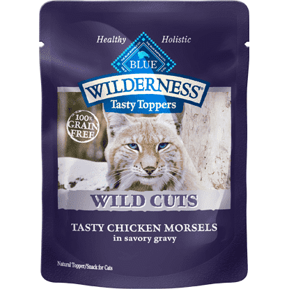 Blue Wilderness Wild Cuts Tasty Chicken In Gravys, Canned Cat Food, Blue Buffalo Company - PetMax Canada