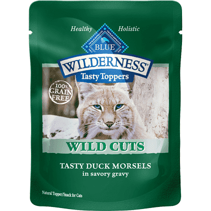 Blue Wilderness Wild Cuts Tasty Duck In Gravys, Canned Dog Food, Blue Buffalo Company - PetMax
