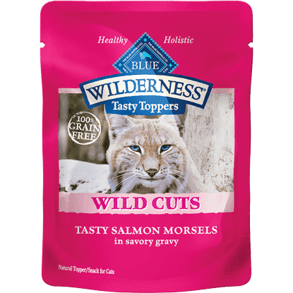 Blue Wilderness Wild Cuts Tasty Salmon In Gravys, Canned Dog Food, Blue Buffalo Company - PetMax