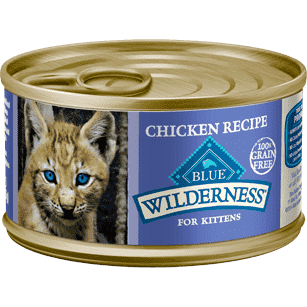 Blue Buffalo Wilderness Canned Kitten Food  Canned Cat Food - PetMax