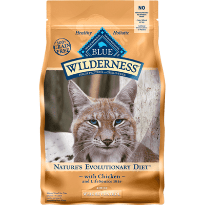 Blue Buffalo Wilderness Cat Food Adult Weight Control