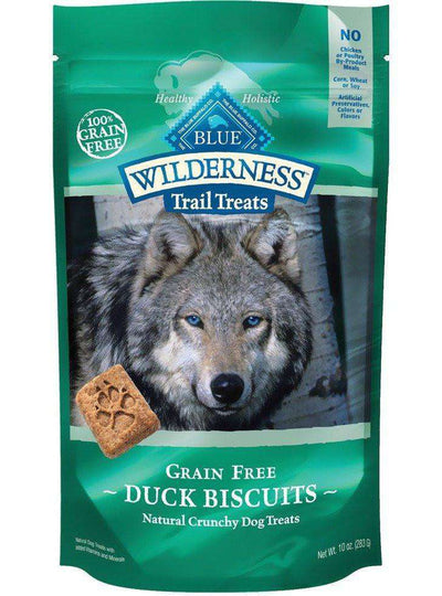 Blue Buffalo Wilderness Dog Treats Duck & Chicken, Dog Treats, Blue Buffalo Company - PetMax Canada