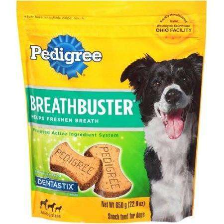 Pedigree Breathbuster Dog Biscuit  Dog Treats - PetMax