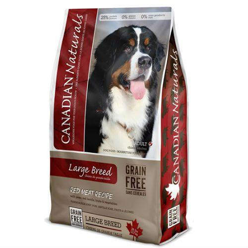 Canadian Naturals Dog Food Large Breed Red Meat  Dog Food - PetMax