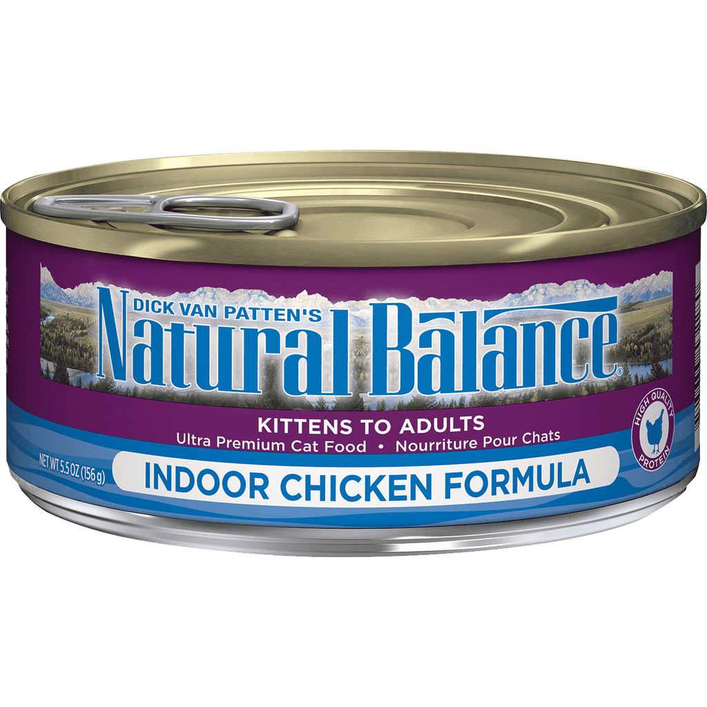 Natural Balance Canned Cat Food Indoor, Canned Cat Food, Natural Balance - PetMax Canada