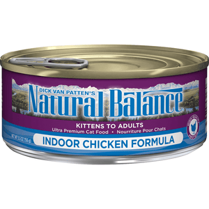 Natural Balance Canned Cat Food Indoor  Canned Cat Food - PetMax