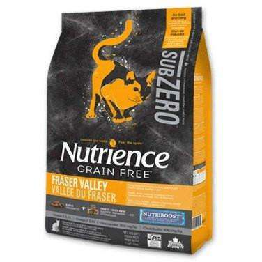 Nutrience Grain Free Cat Food Sub Zero Fraser Valley, Dry Cat Food, Nutrience Pet Food - PetMax Canada