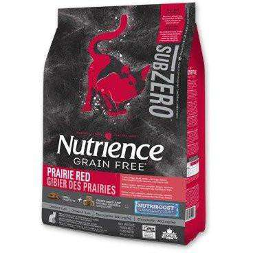 Nutrience Grain Free Cat Food Sub Zero Prairie Red